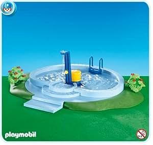 7934 playmobil con piscina juguetes y juegos for Amazon piscinas infantiles