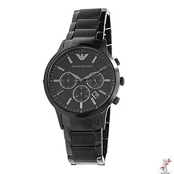 df994296d 43mm Case Emporio Armani AR2453 Classic Black Men's Steel Gents Watch