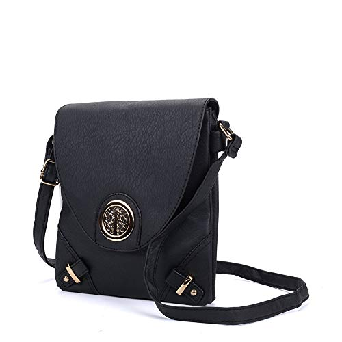Bags High Messenger Cross Fashion Leather vk5344 Quality SALLY Women YOUNG Bags Body PU Black Classic Flap SPxqRI