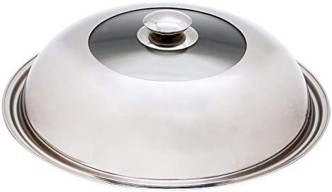 Trionfo de acero inoxidable para wok, tapa de Wok de cúpula de 13 ...