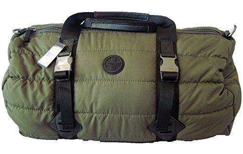 Polo Ralph Lauren Men's Quilted Duffel Tote (Olive - Lauren Polo Ralph Luggage