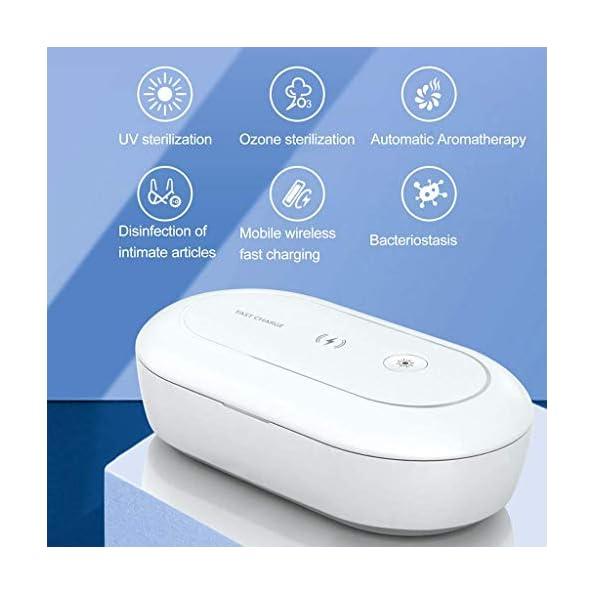 AONCO-UV-Licht-Sterilisator-mit-Wireless-Charger-10W-UV-C-Desinfektionsgert-Sauber-Box-mit-Aroma-Diffusor-Tragbar-Sterilisationsbox-fr-Maskup-Zahnbrste-Brille-Ohrhrer-Schmuck-Beobachten