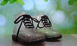 Toddler & Little Kid Rain Boots (9 M US Toddler / EU 26, Black)