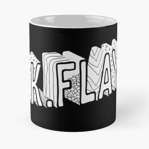 Kflay Just Letters Dark Classic Mug - The Funny Coffee Mugs For Halloween, Holiday, Christmas Party Decoration 11 Ounce White-trymeshop.