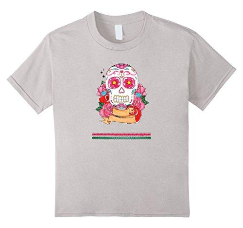 Kids Day Of The Dead   Halloween   Dia De Los Muertos T-Shirt 12 (Dead School Boy Halloween Costume Ideas)