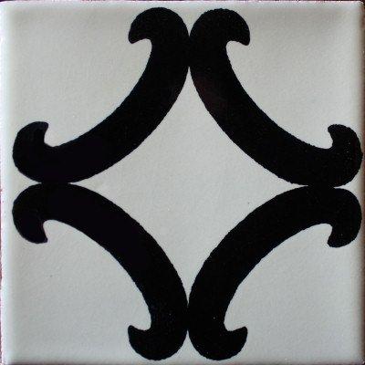 Amazon.com: 4.2 x 4.2 9 pcs Black Diamond de Talavera ...