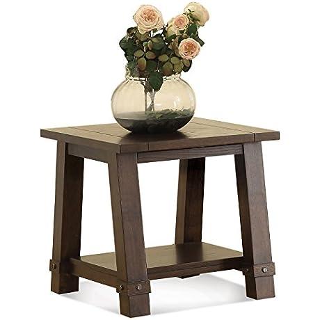 Angle Leg End Table