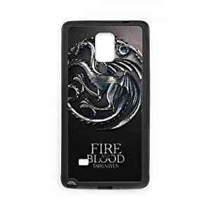 Samsung Galaxy S4 Phone Case Black Game of Thrones VGS6996707
