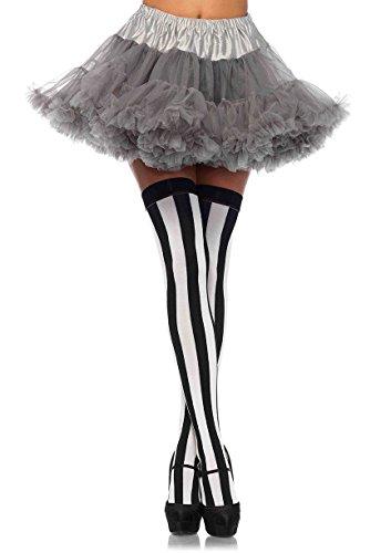 Leg Avenue Women's Petticoat, Grey, One Sizes Fit Most ()