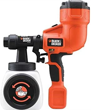 BLACK+DECKER HVLP200-GB Hand Held Paint Sprayer - Easy Maintenance