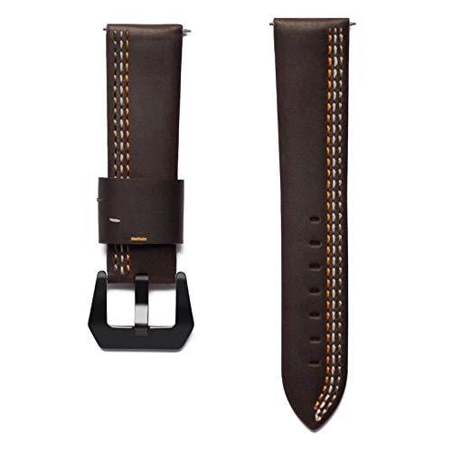 Jewh Retro Vintage Genuine Leather Strap - Samsung Smart Watch - Replacement for Samsung Gear S3