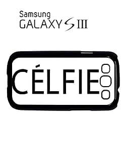 Celfie Selfie Tumblr Meow Mobile Cell Phone Case Samsung Galaxy S3 Black