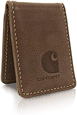 Carhartt Mens Pebble Money Clip brown ONE SIZE CH-46211-200