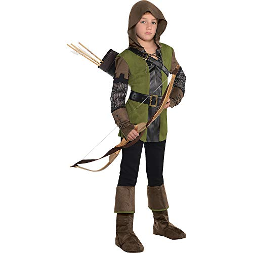 AMSCAN Prince of Thieves Robin Hood Halloween Costume for Boys, Small, with Included Accessories