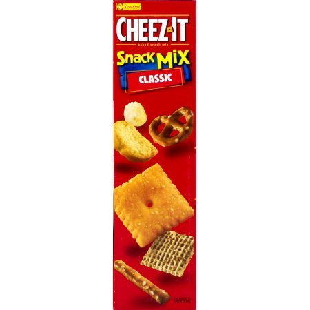 PACK OF 12 - Cheez-It Baked Snack Crackers Snack Mix Classic, 10.5 OZ by Cheez-It (Image #2)