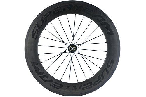 SunRise Bike Carbon Fiber Road 88mm Clincher Wheel 23mm Width Only Rear Wheel