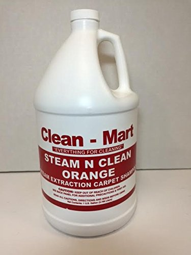 Clean-mart Steam N Clean Orange Carpet Shampoo Gallon by Clean-Mart