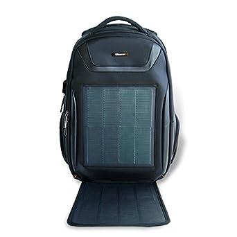 85aa6adb7a7e Amazon.com: HANERGY Solar Powered Backpack with Built-in 10.6W Solar ...