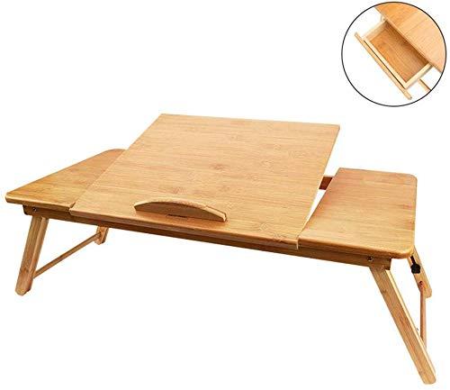 YZjk Mesa Plegable en la Mesa pequeña en la Cama, Mesa para ...
