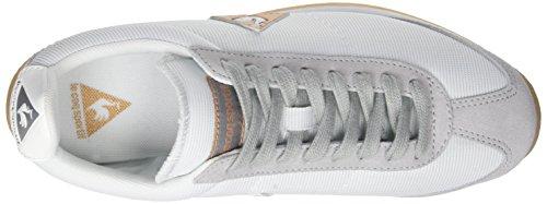 Le Coq Sportif Womens White / Galet Quartz-sneakers Voor Dames