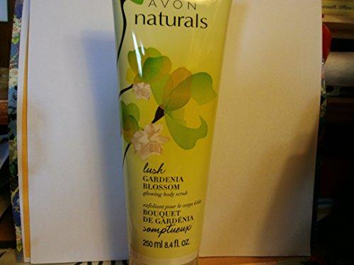 Avon Naturals Glowing Body Scrub (Lush Gardenia (Gardenia Blossom)