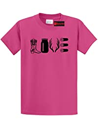 Men's Love Hunting Shirt Cute Hunter Country Redneck Gift T-Shirt