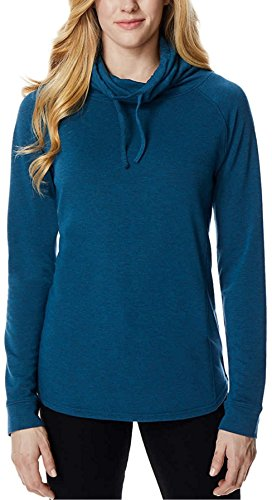 32 DEGREES Ladies' Funnel Neck Top (Blue, XX-Large) ()