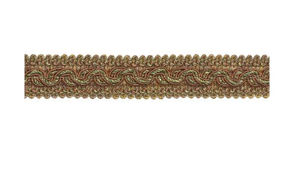 7245 D/ÉCOPRO 27 Yard Package of Large Beige Multi Tone Baroque Collection 7//16 Decorative Cord Without Lip Style# 716BNL Color 25 Meters // 81 Ft. Sandstone