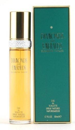 Diamonds & Emeralds By ELIZABETH TAYLOR FOR WOMEN 1.7 oz Eau De Toilette Spray (Candle Taylor)