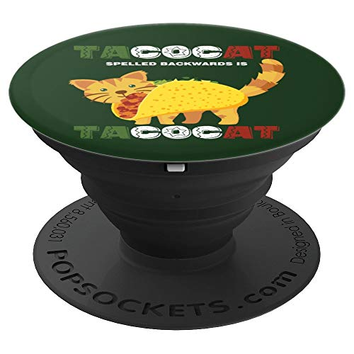 Cute Taco Cat Mexican Kitten Cinco De Mayo Gift - PopSockets Grip and Stand for Phones and Tablets