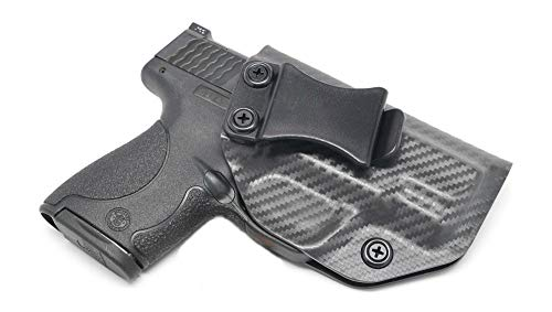 Concealment Express IWB KYDEX Holster: fits Smith & Wesson M&P Shield 9/40 - Custom Fit - US Made - Inside Waistband - Adj. Cant/Retention (CF SG, Right)