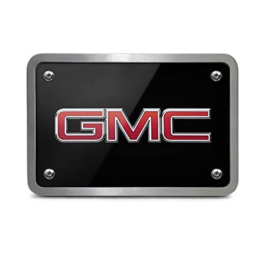 - iPick Image GMC Logo UV Graphic Black Billet Aluminum 2