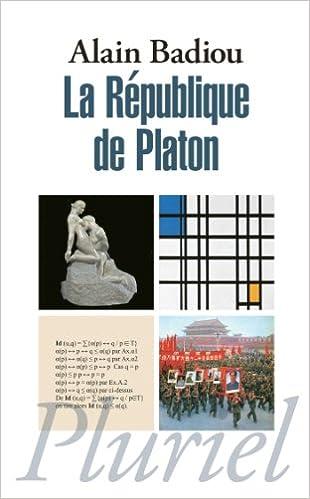 La République de Platon A. Badiou
