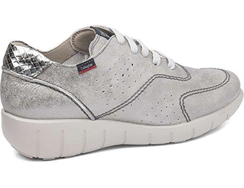 para Mujer Plomo Cordones 11600 Callaghan de Zapatos Oxford w4x7YPX