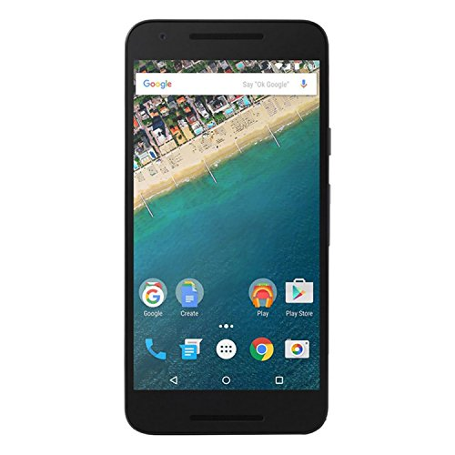 LG Google Nexus 5X H791 32GB Unlocked GSM 4G LTE Hexa-Core Android Phone w/ 12.3MP Camera - Quartz (Best Price For Nexus 5x 32gb)