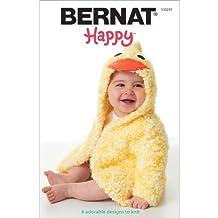 Spinrite BT-30235 Bernat Knitting and Crochet Patterns, Happy