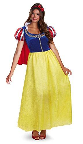 50491 (S 4-6) Snow White Costume Deluxe Adult Disney Costume ()