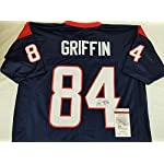 reputable site 40d91 f5cef Ryan Griffin Houston Texans Signed Jersey JSA Witness ...