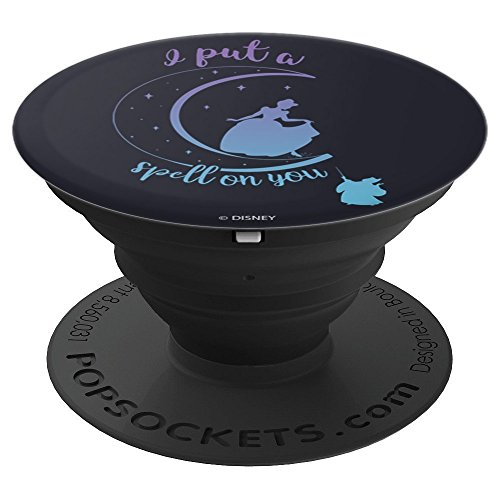 Disney Cinderella Moon Silouhette I Put A Spell On You - PopSockets Grip and Stand for Phones and Tablets