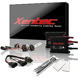 Xentec 9006 (HB4) 12000K HID xenon bulb x 1 pair bundle with 35W Digital Slim Ballast x 2 (Blue Violet)