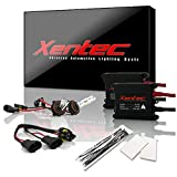 Xentec 9005 6000K HID xenon bulb x 1 pair bundle with 2 x 35W Digital Slim Ballast (Ultra White, also fit 9011,9055,9145,HB3,H12)
