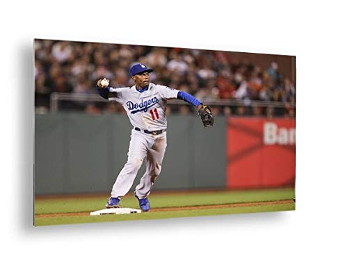 Photos by Getty Images Los Angeles Dodgers v San Francisco Giants - Aluminum, Mounted, (Los Angeles Dodgers 30 Ball)