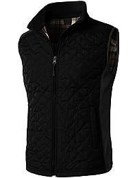 Mens Slim Fit Basic Lightweight Down Active Puffer Vest Jacket