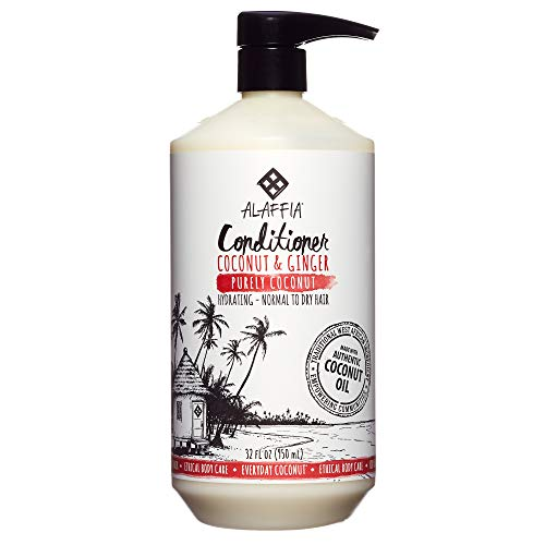 Alaffia - Everyday Coconut Condition, Normal to Dry Hair, He