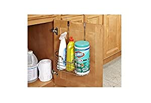 amazon com kitchen details over the cabinet organizer rh amazon com over the cabinet door organizer over the cabinet door organizer holder