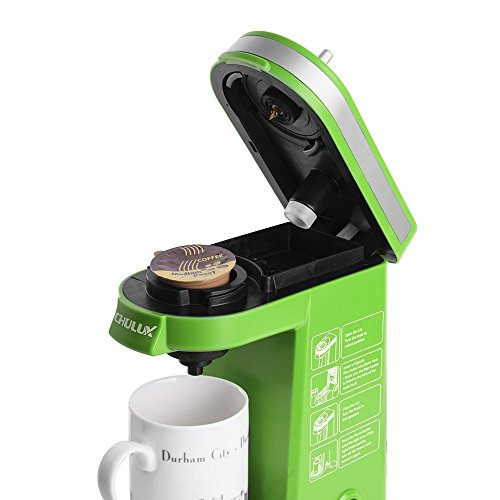 CHULUX Single Serve Coffee Maker with Removable Drip Tray for K-Cup,Green 11street Malaysia ...
