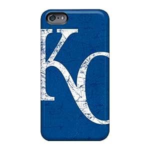 MarcClements Apple Iphone 6 Plus Anti-Scratch Hard Phone Case Provide Private Custom Trendy Kansas City Royals Series [XvM11863NnZk]