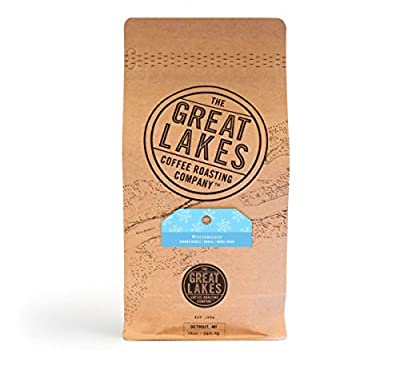 Great Lakes Coffee Roasting Company Wintersleep Seasonal Blend Roasted Coffee Beans Farmer Direct From Brazil 12 ounces