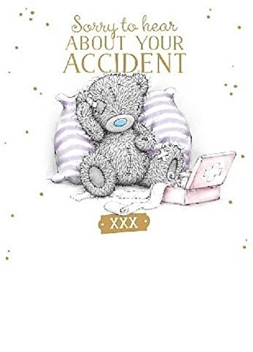 Amazon.com: Me to You Get Well Sorry About Your Accident Card: Toys ...