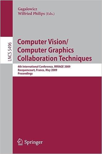 Computer Vision/Computer Graphics Collaboration Techniques: